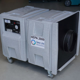 HEPA Air Scrubber Hire Medium - Novair 2000 CFM