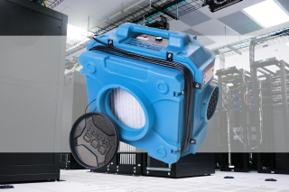 Data Centre Hepa Air Scrubber Hire