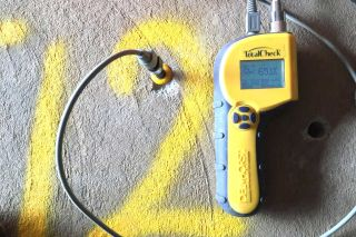 Concrete Floor Moisture Test